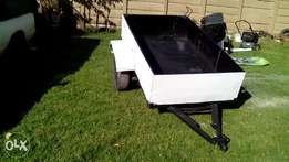 Trailer for sale or to swop 1.2ton loading capability