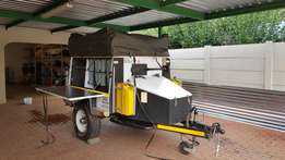 Conqueror off road trailer for sale with a lot of extras