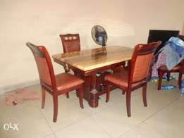 Executive Marble Dinning TAble Set up for Grabs