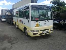 Nissan Civilian school bus 29 seater never been in matatu