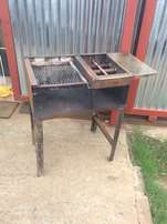 two braai stands for sale R400