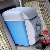 Portable warming and cooling refrigerator