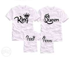 Customized tshirts with any wording or image of your choice