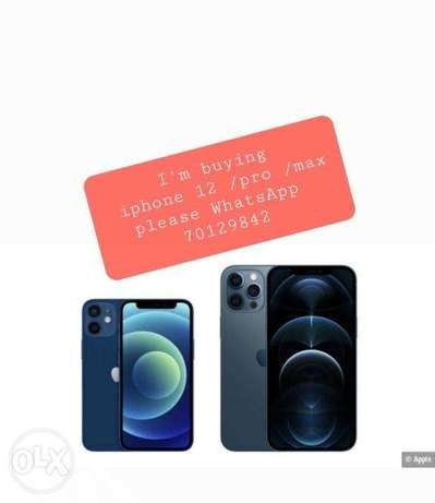 I'm looking to buy iphone 12 (required)
