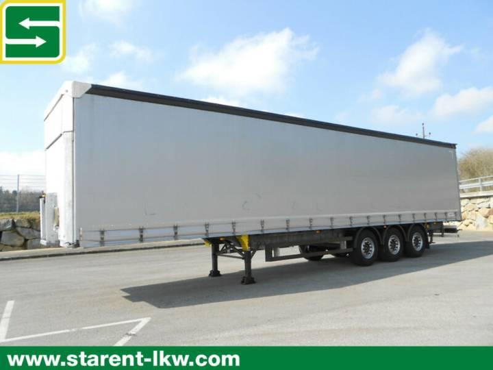 Schmitz Cargobull Tautliner, Hubdach, Liftachse, XL-Zertifikat - 2018