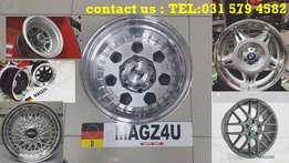 Mags 4 u wheel & tyre experts...wide selection to choose from...