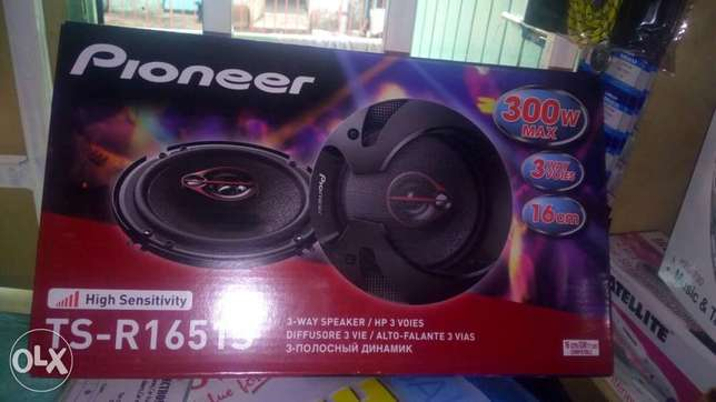 Pioneer 6' speakers 300w, free delivery within cbd Nairobi CBD - image 1