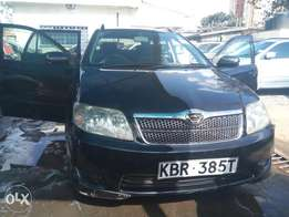 Toyota Fielder KBR registration fully loaded