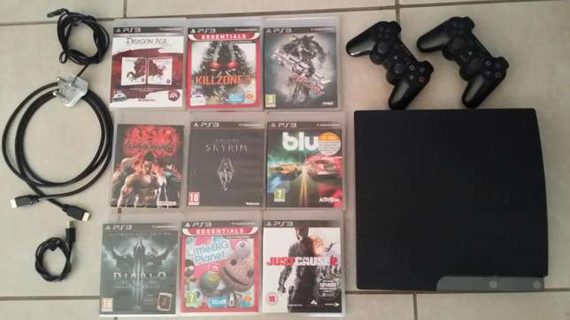 Playstation 3 with games. Sandton - image 1