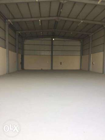 Garage and Labor camp for Rent in Industrial area