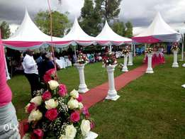 Tents and decorations