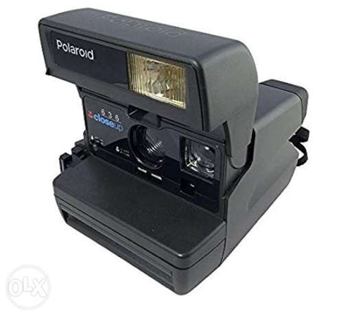 Polaroid Camera 636 Close Up