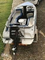Sundowner 190 BR with Mercury 250 Pro XS