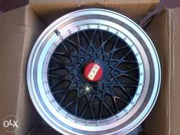 17inch Black BBS 4/100 mags 7,5J