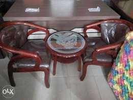Console set a table with 2 chairs