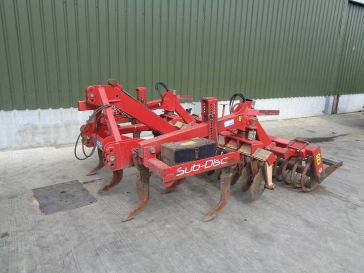 Weaving Sub-disc 3m Cultivator - 2011