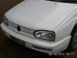 VW Golf 3 Gti 1999 Model R39 000 with Roadworthy.