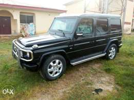 Mercedes Benz G wagon armoured bullet proof