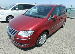 Volkswagen golf touran brand new car