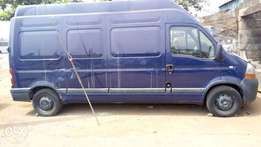 UK used Long Wheel Based Renault Master Van 2.5dci