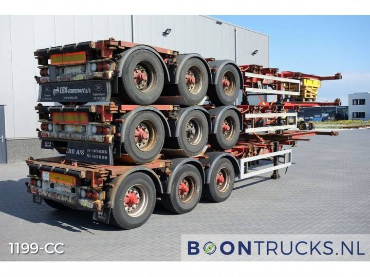 HFR * STACKPRICE EUR 16250 * 20-30-40-45ft HC *EXTENDABLE - 2006
