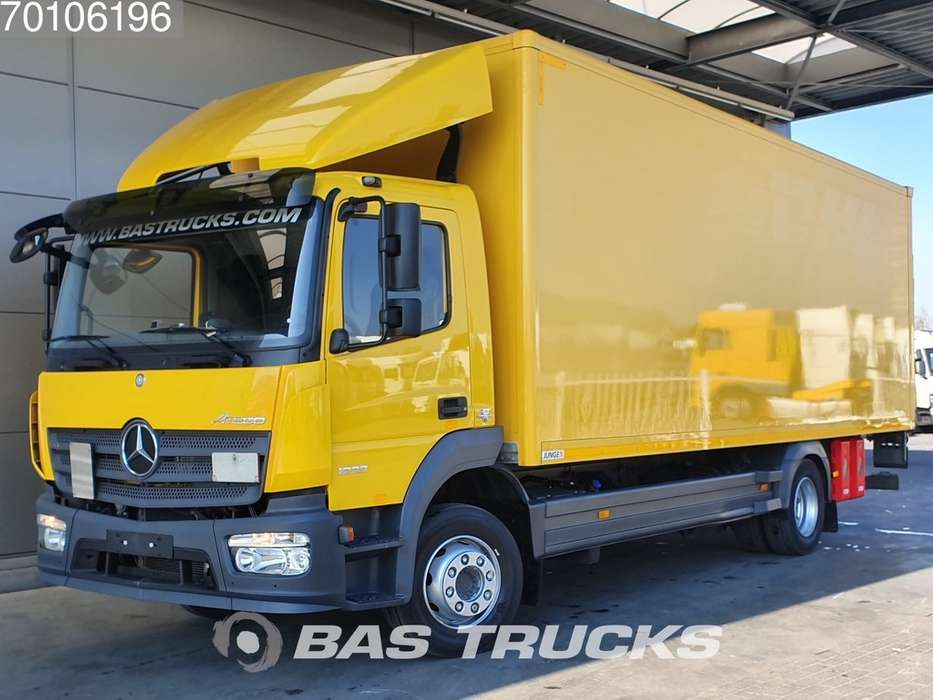 Mercedes-Benz Atego 1223 L 4X2 Manual Ladebordwand Euro 6 - 2014