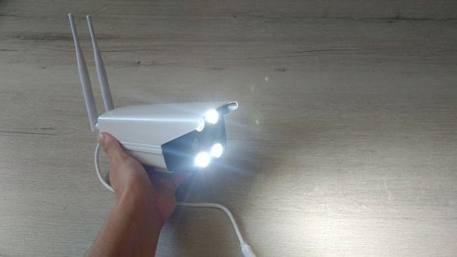 Уличная беспроводная IP WiFi камера с микрофоном IR и LED подсветкой Киев - изображение 4