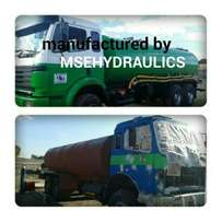 Water tankers manufacturing with full hydraulic systems
