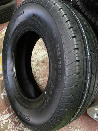 255/70R16 brand new tyres Continental cross contact on sale for bakkie Pretoria West - image 3