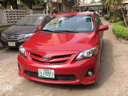 2012 corolla sport just like tokunbo view months used