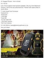 X1 Rugged Smart Phone