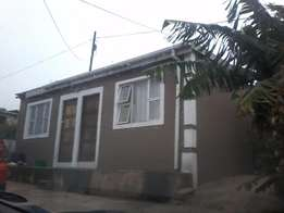 One room to Rent KwaMashu C-Section Available for May!