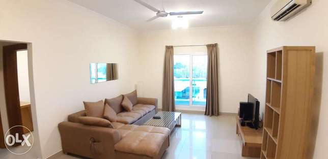 Luxury specious 1bhk apartment for rent in Adliya