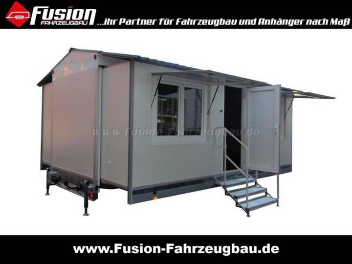 Ausziehbarer Promotion-Anhänger 600x422x220cm