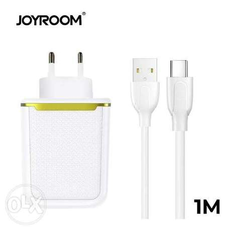 12W Dual Ports Charger 2.4A Max with Cable
