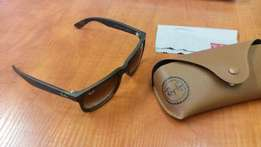 Ray-Ban Justin Grey Gradient Lens and Havana Frame