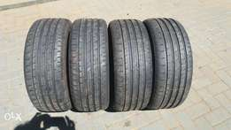 225 x 45 x 17 5 % used tyres 95 % remaining