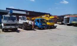 Crane and truck hire