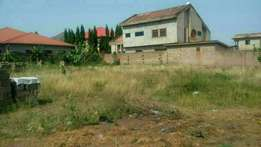 Low price land for sale at Oyibi near the station