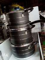 Non stick cooking pots