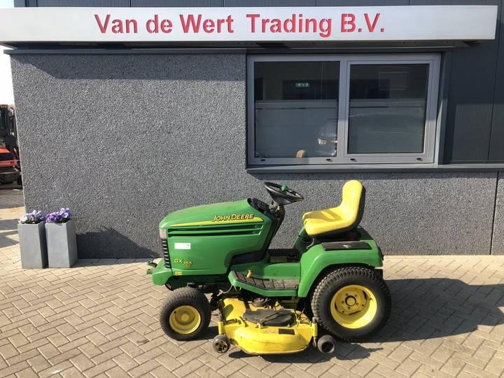 grasmaaier tractor JOHN DEERE GX355 diesel 2003 1050uur... - 2003