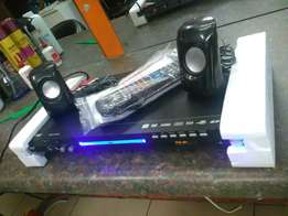 Fusion DVD Player with speakers