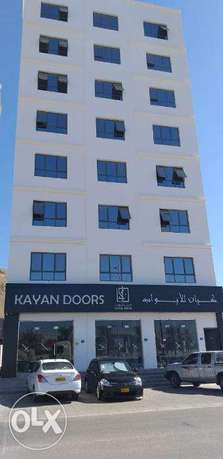 2 bedroom flat available Al Amerat opposite Toyota spare parts (64/132