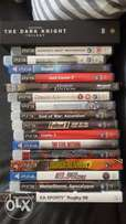 Various Playstation and PC games