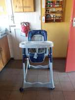 Blue feeding chair/ high chair
