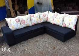 6 seater L shaped sofaset