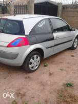 tincan clear Renault megane 2 for sale or swap. pls call 08100,118687