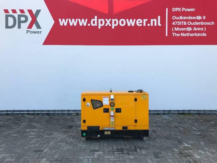 JCB G20QS - 20 kVA Generator - DPX-11868 - 2017