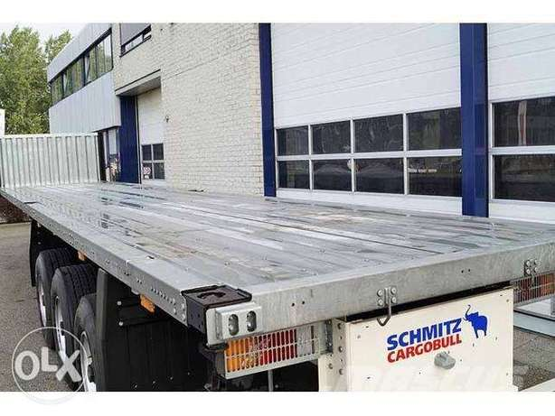 German Flat bed truck (40 feet)(50 ton)available unused at best price