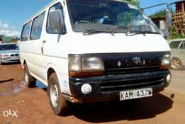 Toyota hiace (shark) 3l manual